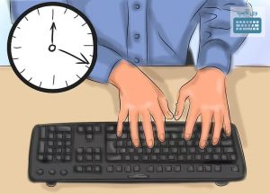 time of fast typing