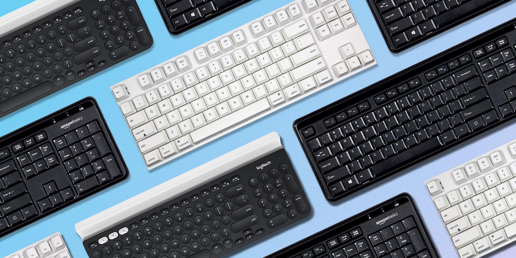 انواع صفحه کلید کامپیوتر