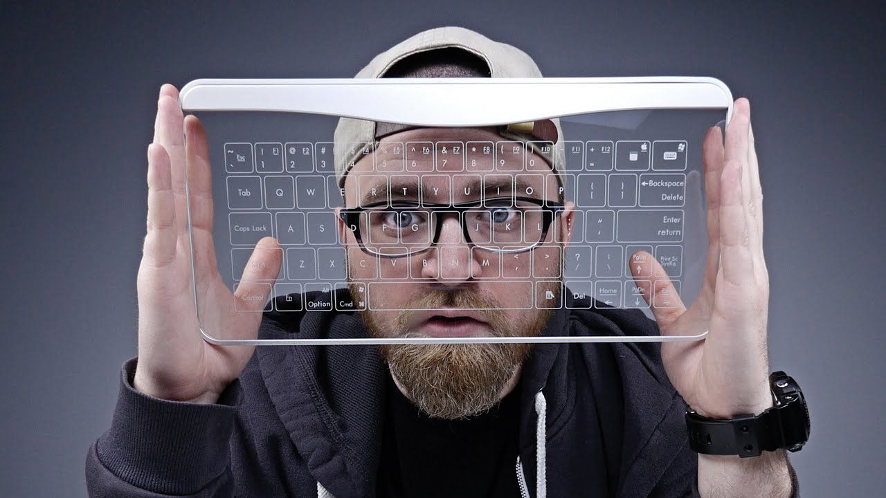 glassy keyboard