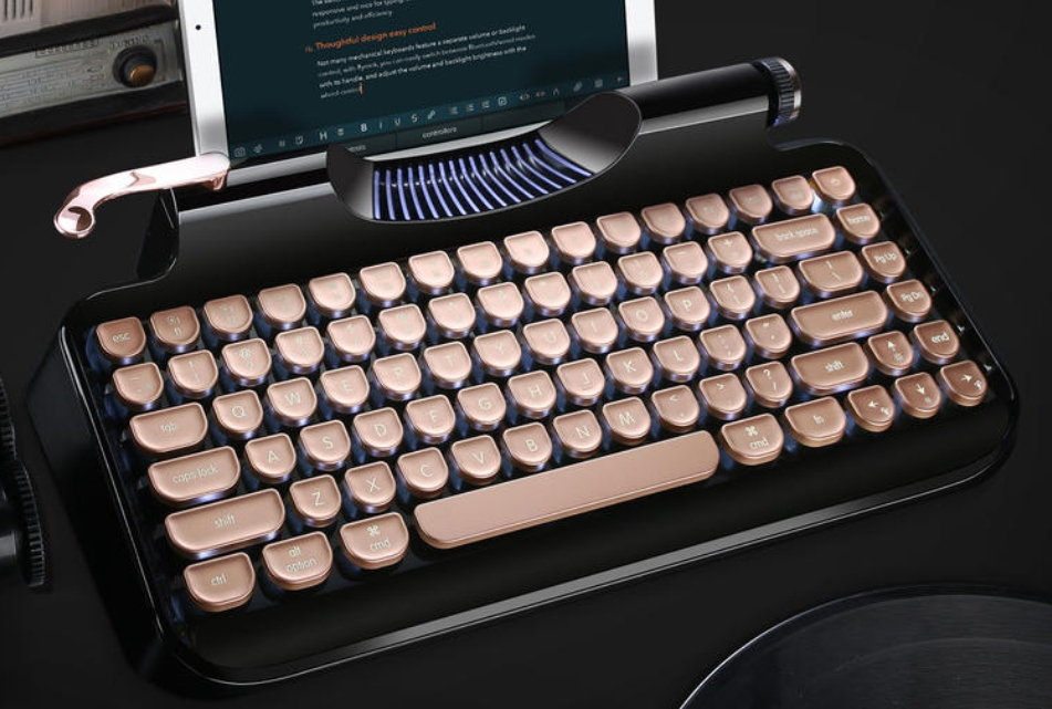 typing machine keyboard